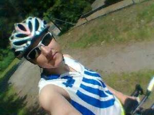 Me and my bike in Kummersdorf